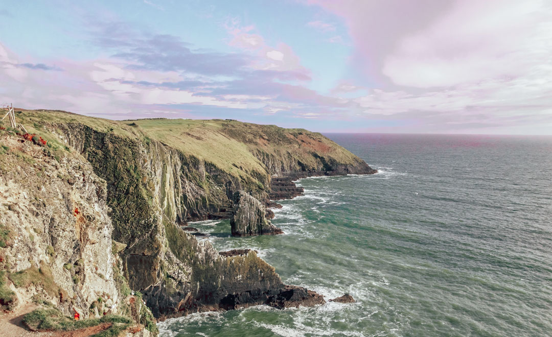 The old head in Kinsale Ireland