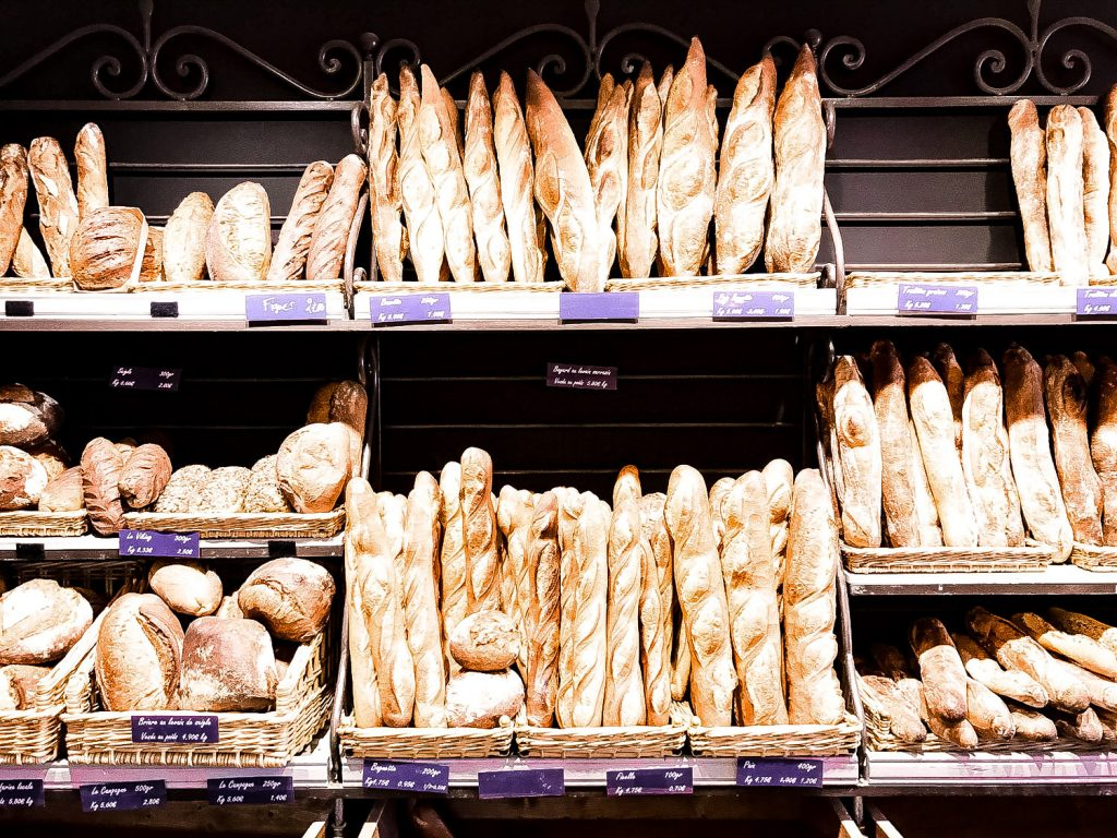 the baguette, an essential part of french lifestyle